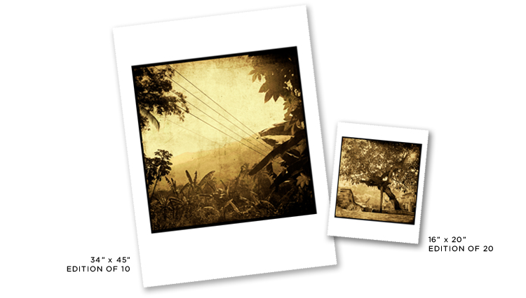 Yelapa Fine Art Print Sizes